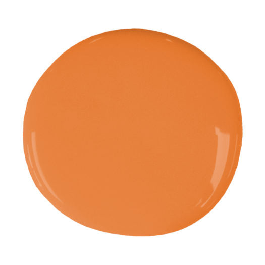 A blob of Chalk Paint® by Annie Sloan ™ in Barcelona Orange