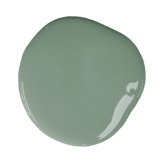 A blob of Chalk Paint® by Annie Sloan ™ in Duck Egg