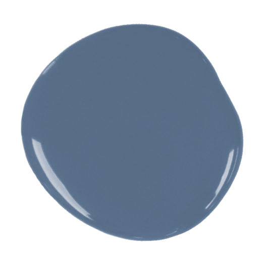 A blob of Chalk Paint® by Annie Sloan ™ in Greek Blue