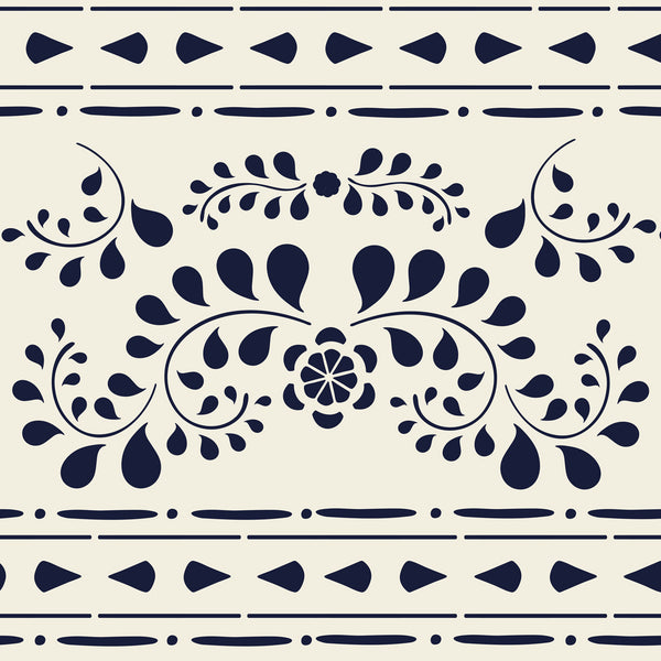 Faux Bone Inlay Stencil Set
