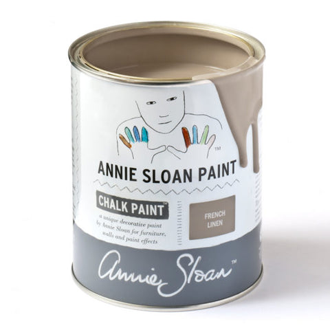 A litre of Chalk Paint® by Annie Sloan ™ in French Linen