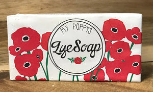 My Poppy's Lye Soap