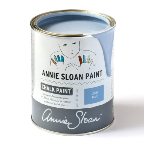 A litre of Chalk Paint® by Annie Sloan ™ in Louis Blue
