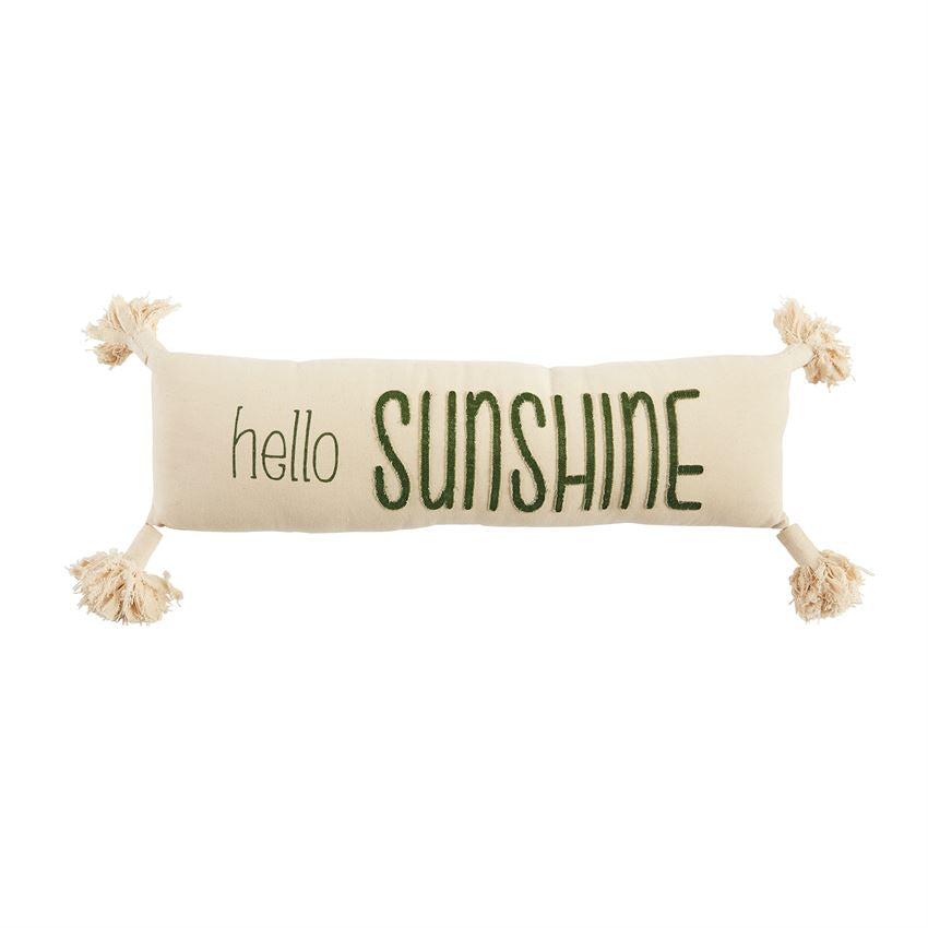 Hello Sunshine Canvas Pillow