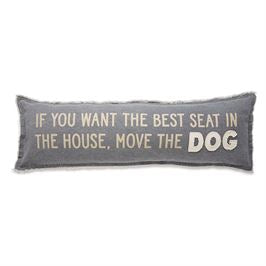 Move the Dog/Favorite Long Pillow
