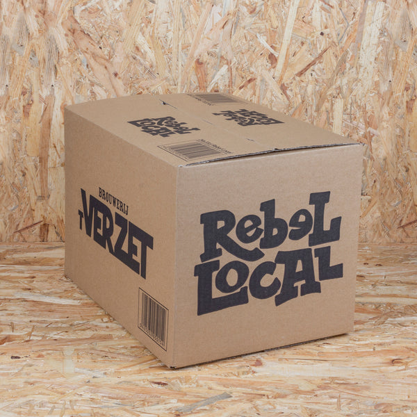 Doos Rebel Local 24x33cl