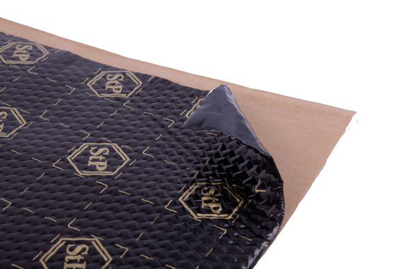 STP Gold 2.3mm (90mil) 48 sqft car Sound deadening mat, Butyl Rubber Automotive Sound Deadener - Standartplast Canada