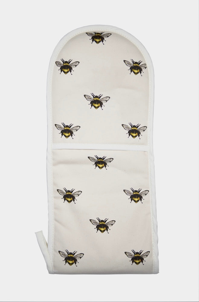 Bumble bee oven mitt repeated