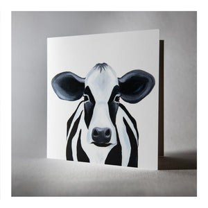 Camilla the Cow greeting card