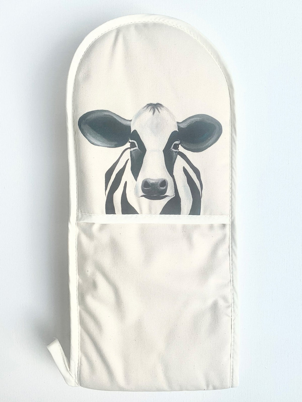 Camilla the Cow oven mitt