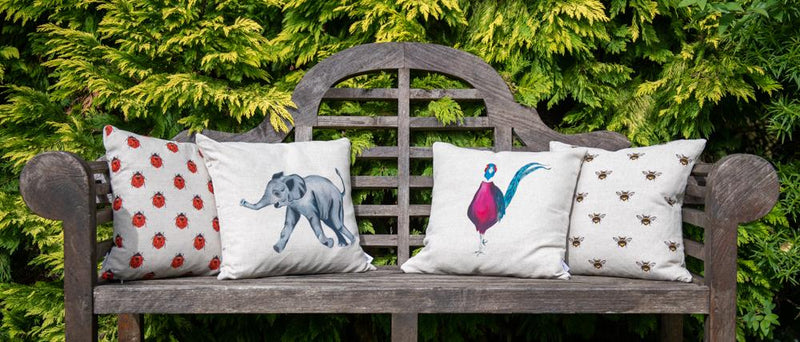 Phillip the Pheasant cushion