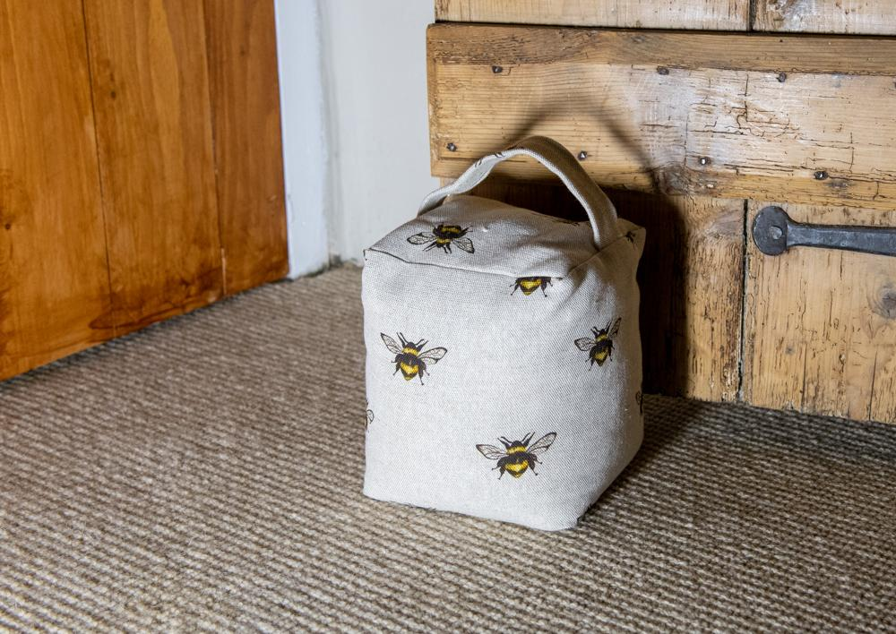 Bumble bee door stop