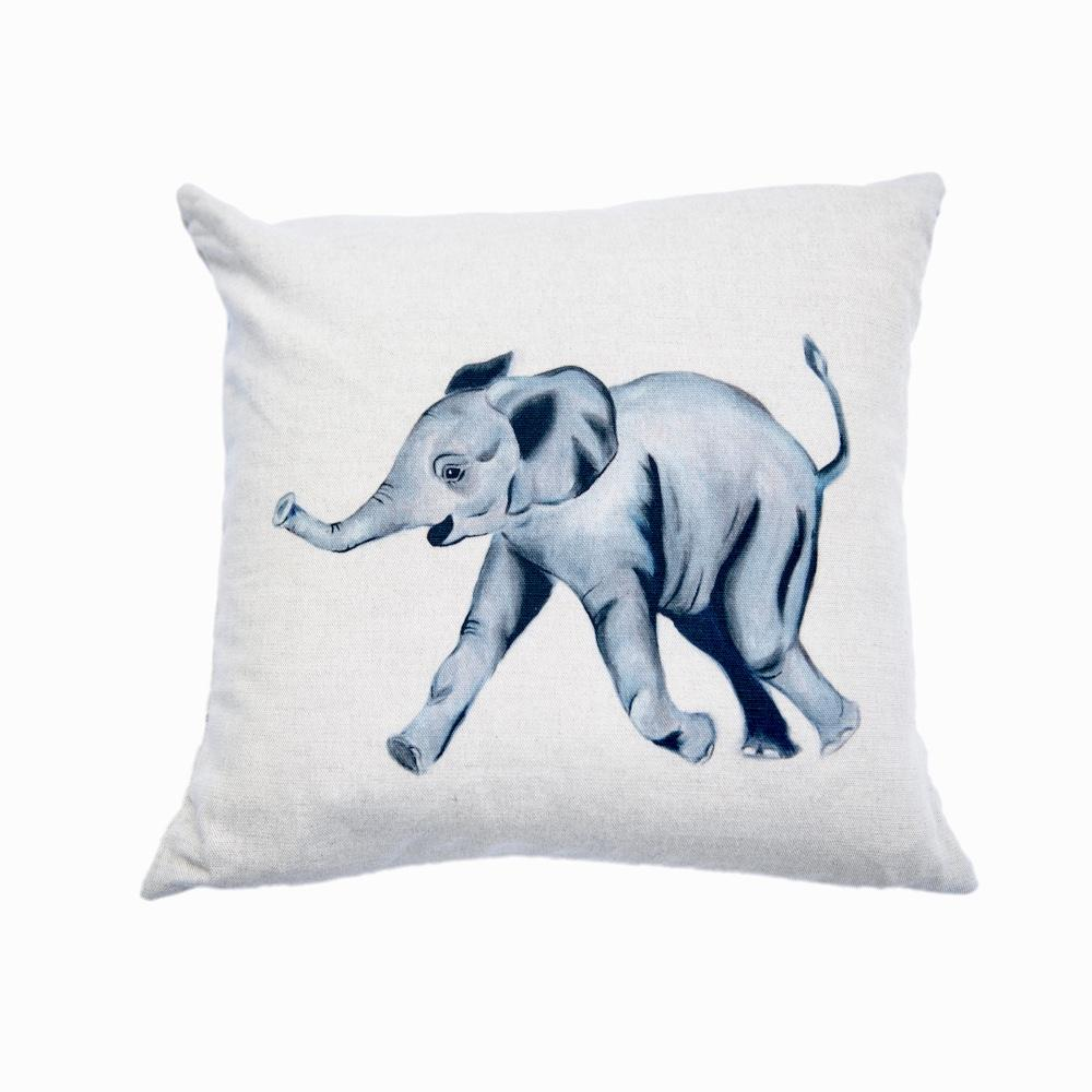 Edward the elephant cushion