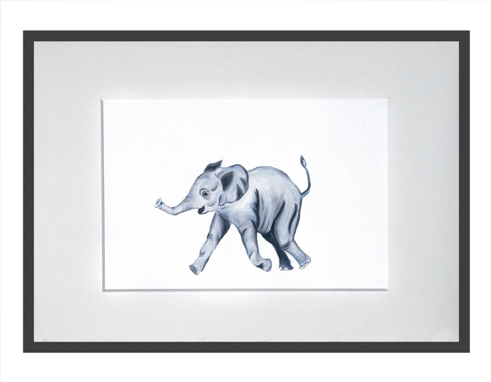 Edward the Elephant print