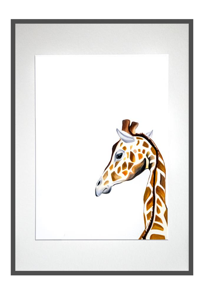 Gloria the giraffe print