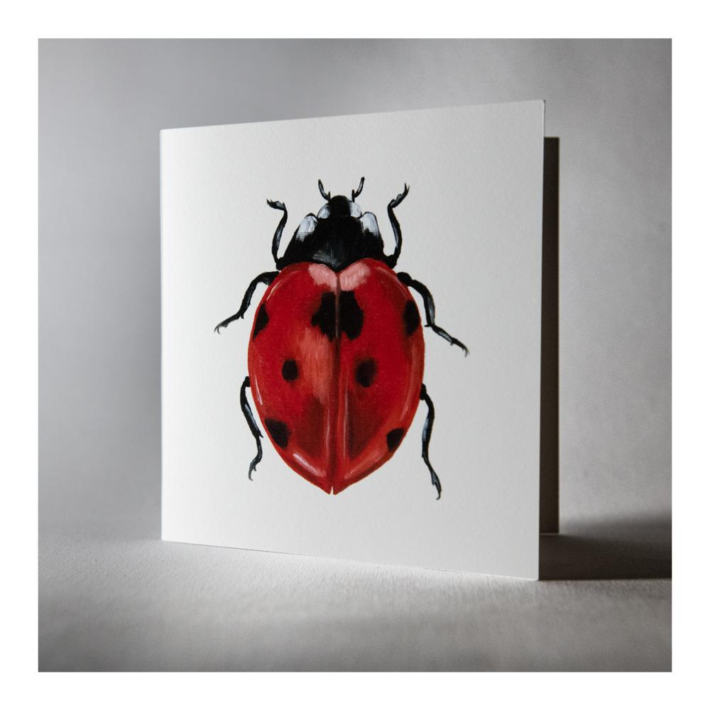 Lady Bird greeting card