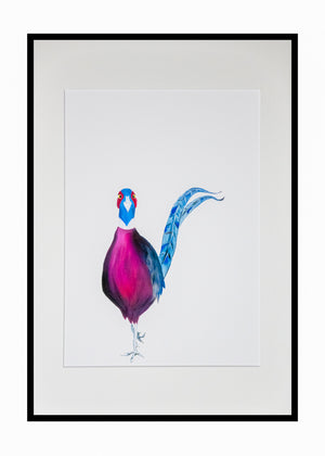 Phillip the Pheasant print