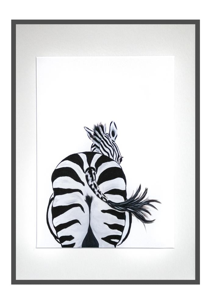 Zara the Zebra print