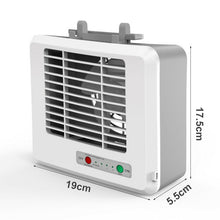 Load image into Gallery viewer, USB Mini Portable Air Conditioner Cooler Fan  Personal Space Air Cooling Fan