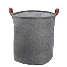 Load image into Gallery viewer, Cotton Linen Waterproof PE Coating Storage Basket