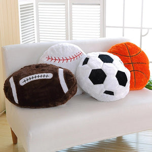Spherical Cushion Lumbar Pillow Bed Sofa Chair Decor Creative Plush Toys