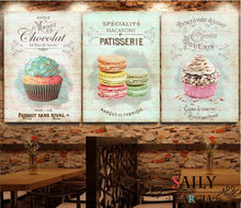 Load image into Gallery viewer, Kitchen Restaurant Dessert Bread Canvas Painting