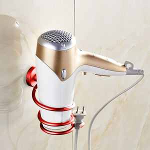 Wall Hair Dryer Rack