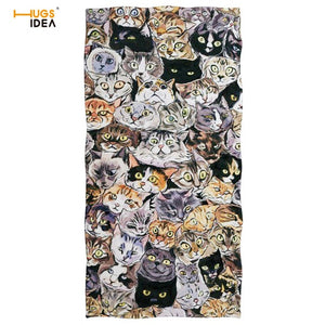 Microfiber Towels Cats/Dogs/Horse/Ocean