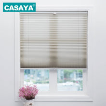 Load image into Gallery viewer, Trim-at-Home Cordless Pleated Blinds Light Filtering Shade Child Safety