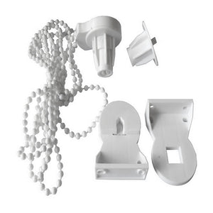 Urijk 25mm Manual Roller Blinds Bracket Kitchen Accessories Bead Chain Accessories Curtain Accessories Window Blind Roller Kit