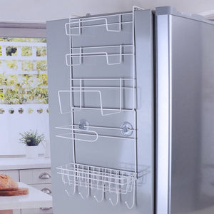 Refrigerator Rack Side Shelf Sidewall Holder