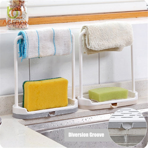 1 PCS Storage Rack Standing Sponge Holder
