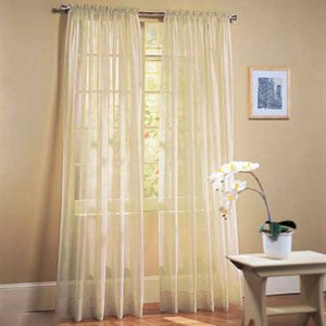 95X200CM Multi-Styles Scarf Assorted Sheer Curtains