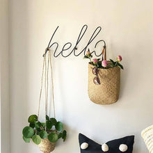 Load image into Gallery viewer, Wire Letters Home Decor Interior Wall Sign