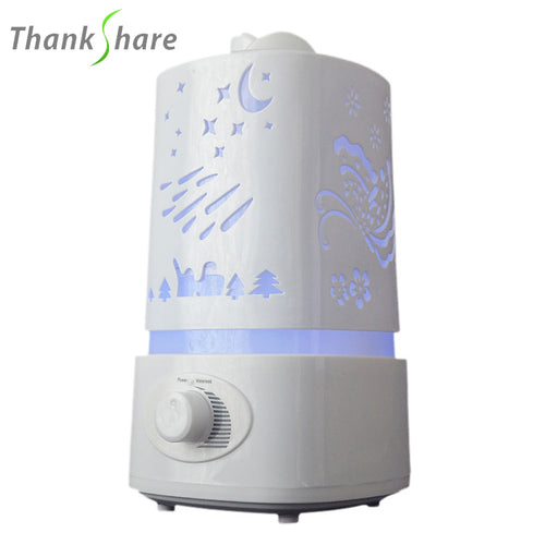 Aroma Humidifier Essential Oil  Diffusers 7 Color LED