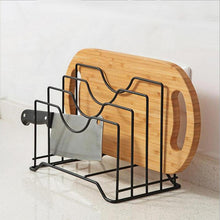 Load image into Gallery viewer, Kitchen Shelf Pan Rack Cutting Board Holder