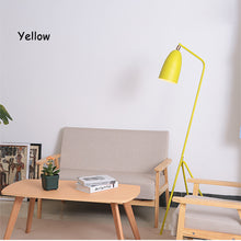 Load image into Gallery viewer, Modern American iron painted E27 LED adjustable floor lamp