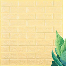 Load image into Gallery viewer, 3D Wall Stickers Imitation Brick Bedroom Decor Waterproof Self-adhesive Wallpaper