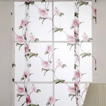 Load image into Gallery viewer, 2018 1pcs Flower Branches Printed Tulle Curtains