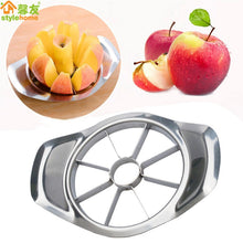 Load image into Gallery viewer, Kitchen Gadgets Stainless Steel Apple Cutter Slicer Vegetable Fruit Tools Kitchen Accessories  Apple Easy Cut Slicer Cutter