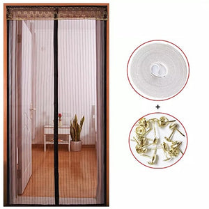 Summer Anti Mosquito Curtain Magnetic Automatic Closing Door Screen