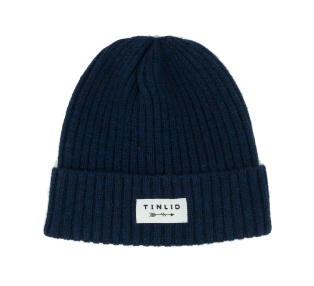 Tin Lid Hat Co. Navy Wool Beanie