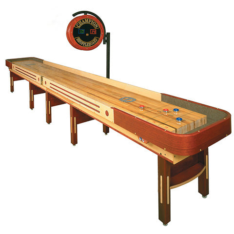 """Champion """"Grand Champion Limited Edition"""" 22 foot Shuffleboard Table"""