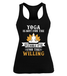 Yoga is not for Flexible