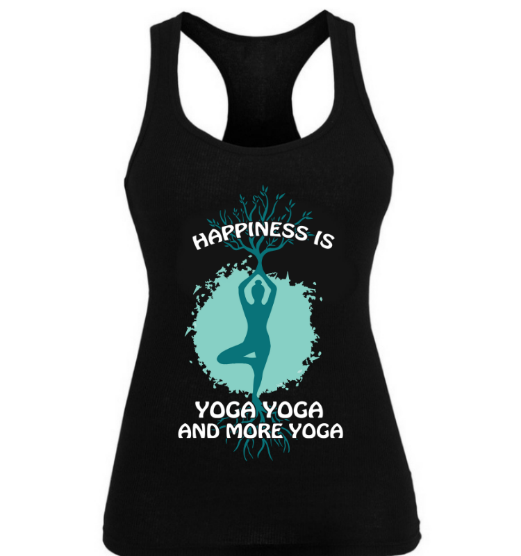 Happiness is Yoga Yoga