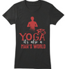 Yoga is also Man's World