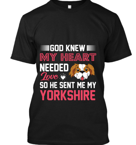 God knew my heart needed Yorkshire