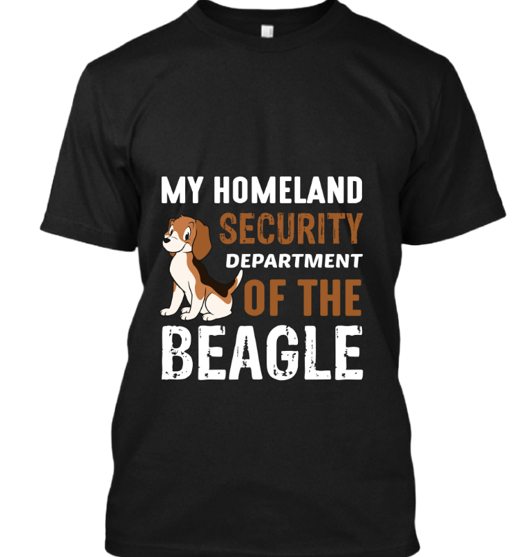 My Homeland security department beagle