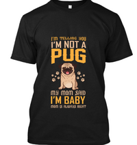 I am telling you i am not pug