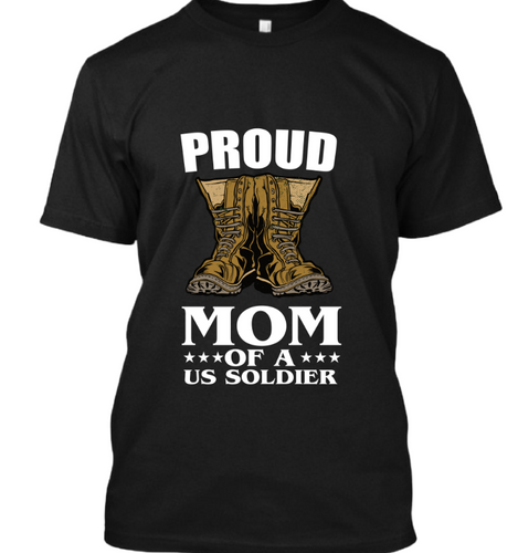 Proud mom of US Soldier